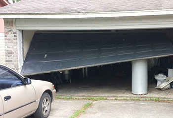 Garage Door Off Track - Warner CA